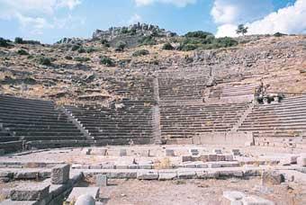 Assos Antik Kent Tiyatrosu