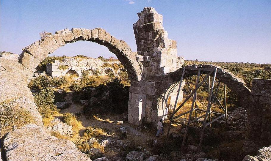 Alexandreia Troas Ören Yerinde Hamam Kalıntısı