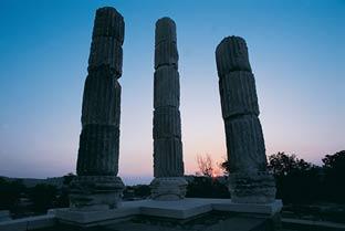 Apollon Smintheion Tapınağı Sütunları