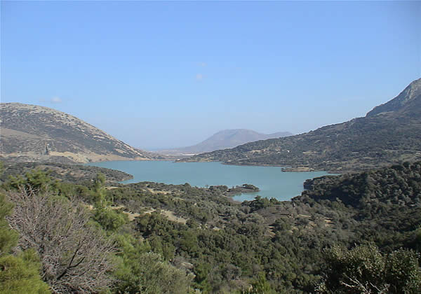 Gökçeada fotoğraf resim galeri zeytinli köy barajı